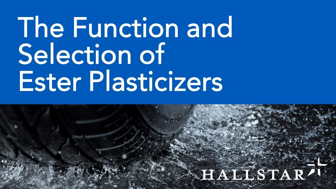 Ester Plasticizer Chemistry and Function-Rubber Division Webinar