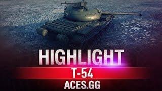 Оборона высоты. Т-54