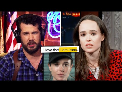 Ellen Page is Now a Straight White Male | Louder With Crowder
