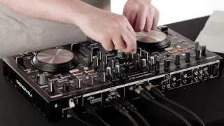 DENON DJ MC6000MK2  Controller & Mixer in action