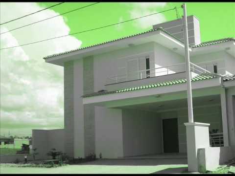 Arquitetura projeto residencial de 2 pavimentos parte for Casa moderna minimalista 6 00 m x 12 50 m 220 m2