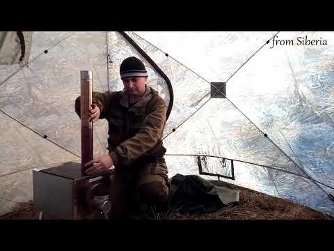 Палатка Куб 2,20 + Печь