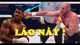 Tyson Fury hứa đập NÁT MỒM Anthony Joshua khi TRỞ LẠI