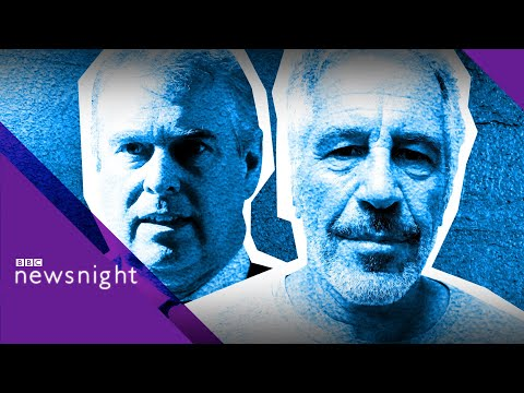 How much trouble is Jeffrey Epstein's death for the Royal Family? - BBC Newsnight