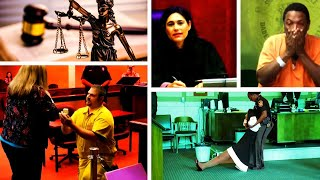 The Wildest Things to Happen in Courtrooms