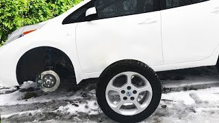 The wheel fell off Funny Baby Paw Patrol with friend Ride on POWER WHEEL for help