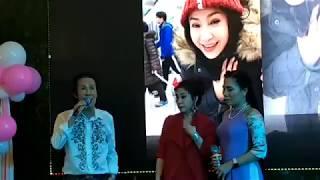 NSUT Vũ Linh hát với Cvvc Thu Vân mừng sinh nhật NSƯT Thoại Mỹ