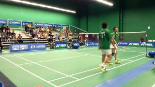 Final XD G2 Halim Haryanto, Jing Yu Hong (USA) vs Toby Ng, Michelle Li (CAN)