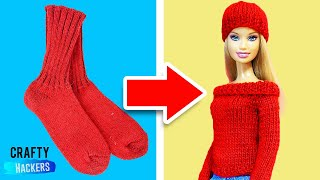 10 Barbie Hacks and Toy Crafts
