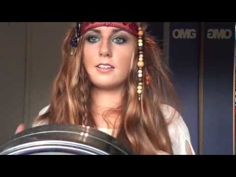 Pirates of the Caribbean 4 Makeup, Hair and Costume! - YouTube