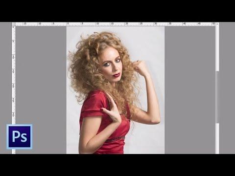 Обучение Фотошопу - Удаление бликов на коже