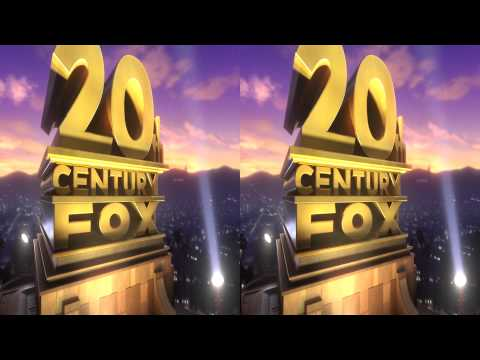 20th Century Fox INTRO in 3D