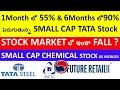 Small Cap TATA STOCK?, IRCTC STOCK, FUTURE RETAI STOCK, TATA STEEL STOCK