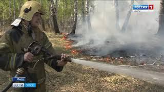 Более 400 пожаров произошло в Омской области за прошедшие выходные