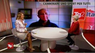 Rai TV: TG2 Italia sul camminare