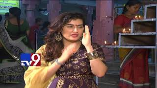 Archana celebrates Diwali with TV9!; performs dance in the..