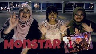 MONSTAR from ST.319 - 'BABY I TOLD U' M/V (Official) MV Reaction