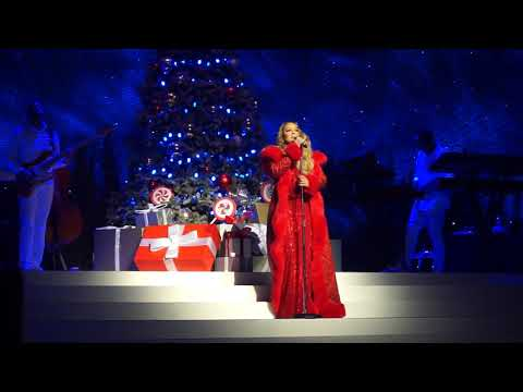 Mariah Carey - O Holy Night (11/22/2019) Las Vegas: All I Want For Christmas Is You