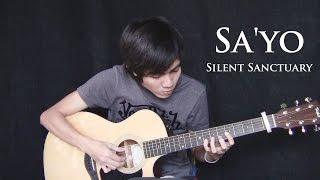 SA'YO - Silent Sanctuary (fingerstyle guitar cover)