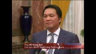 Video Hồ Hùng Anh Chủ tịch HĐQT Techcombank bác bỏ tin đồn bị bắt