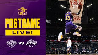 Lakers Defeat Pelicans But Finish In 7th Seed, Bring On The Warriors!