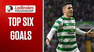 Spoilt for Choice in Week 9! | Top SIX! Goals (Week 9) | Ladbrokes Premiership