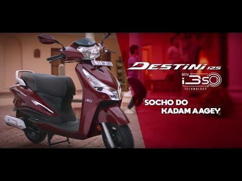 Hero Destini 125 - Socho Do Kadam Aagey