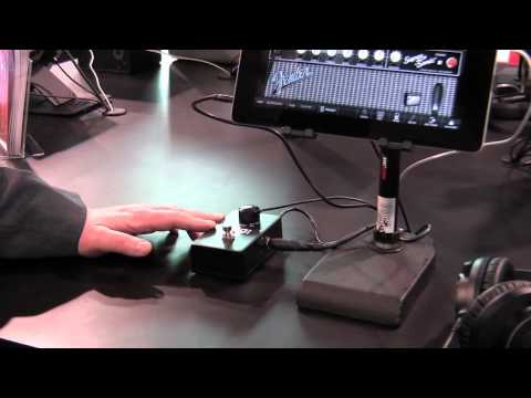 Sweetwater at Winter NAMM 2012 - IK Multimedia iRig Stomp Overview