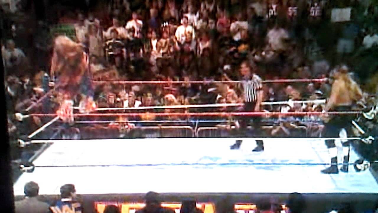 Ultimate warrior vs hhh wrestlemania 12 - YouTube