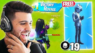 How I Unlocked The Tart Tycoon Skin! (19 ELIMS!) - Free Fortnite Cup