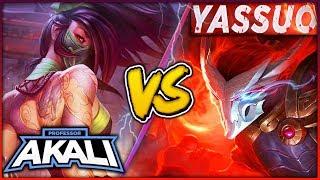 PROFESSOR AKALI VS. YASSUO! #1 YASUO WORLD VS. BEST REWORKED AKALI WORLD - League of Legends