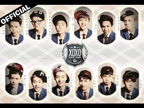 Exo (엑소) XOXO Official Karaoke/Instrumental