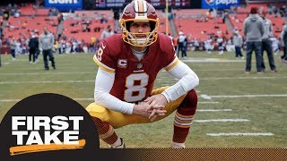First Take debates what will make Kirk Cousins trade to Vikings a bust | First Take | ESPN