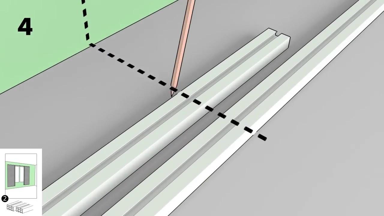 Comment Fixer Une Tringle A Rideau Sans Percer tringle rideaux cintrable