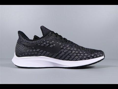 Nike Zoom Pegasus 35 De Negro Blanco Hombres Zapatillas De 35 Robert d501fb