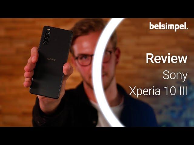 Belsimpel-productvideo voor de Sony Xperia 10 III