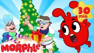 The Good Christmas Bandits! My Magic Pet Morphle   Cartoons For Kids   Morphle TV   BRAND NEW
