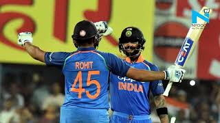 Rohit Sharma is the first cricketer to achieve this milest..