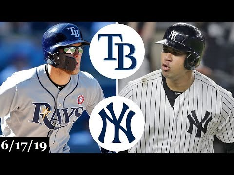 Tampa Bay Rays vs New York Yankees - Full Game Highlights   June 17, 2019   2019 MLB Season