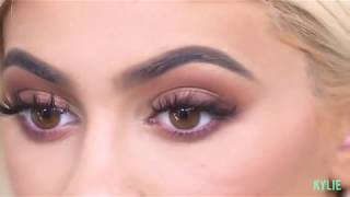 [FULL VIDEO] Kylie Jenner| My KyShadow Burgundy Palette Reveal + Tutorial With Ariel Tejada  [2016]