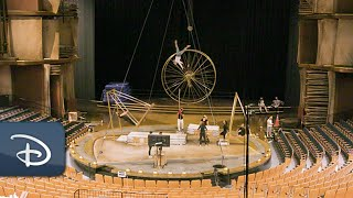Behind The Scenes - Cirque du Soleil Artists Return For Drawn To Life | Disney Springs