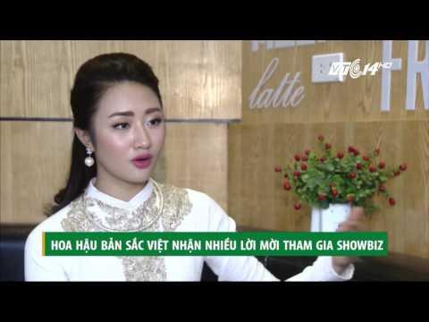 (VTC14)_Hoa hậu Thu Ngân tính chuyện tương lai