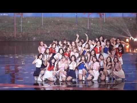 161229 TWICE,GFRIEND, I.O.I, Red Velvet  소녀시대 -다시만난세계 [전체] 직캠 Fancam (2016 KBS 가요대축제) by Mera