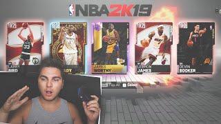 The HIGHEST OVERALL Draft on NBA 2K19! MyTeam Draft Mode