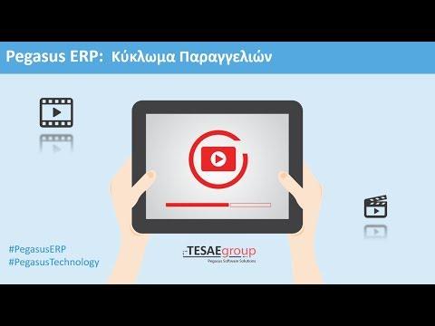 Pegasus ERP - Κύκλωμα Παραγγελιών