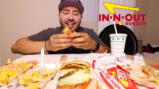 IN-N-OUT MUKBANG | Burgers + ANIMAL STYLE FRIES