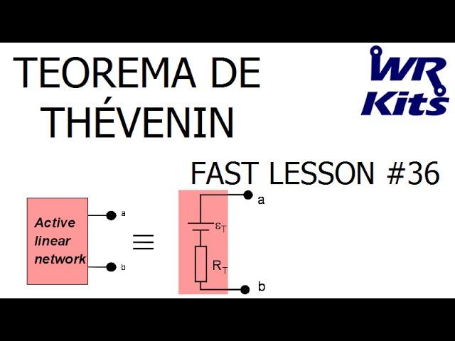 TEOREMA DE THÉVENIN | Fast Lesson #36