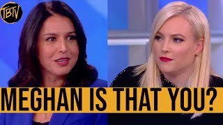 NEW: Tulsi Gabbard Scores on The View, Meghan McCain Surprises!