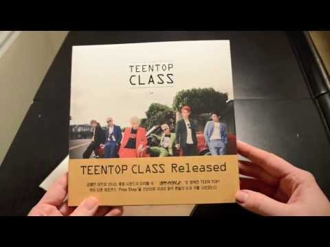 Unboxing Teen Top Class + Special Limited Photo Book/Collection