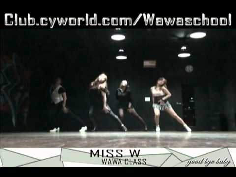 WAWA DANCE ACADEMY SPECIAL MISS A GOOD BYE BABY DANCE STEP MIRRORED MODE